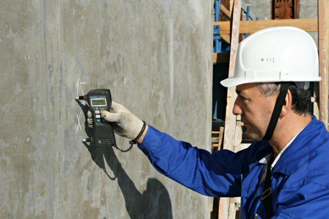 Неразрушающий контроль. Обследование зданий и сооружений неразрушающими методами. Неразрушающий контроль прочности армирования конструкций.